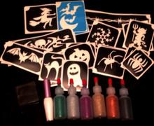 Halloween Glitter Tattoo Kit