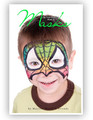 This is a great book full of girl and boy designs that are fantastic at all day events. Eye masks look great all day, even after the children have had lunch! Quick designs that look great all day!