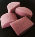 Pink Mini sponges by Always Wicked Art