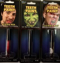 Wolfe FX Teeth Paint in 3 different colours