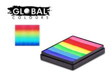 Global BodyArt Bright Rainbow 50g