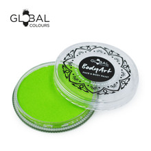Global BodyArt Regular Lime Green 32g