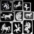 Horses Stencils