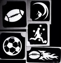 Sports Stencils