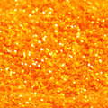 Crystalline Orange Glitter, Semi Transparent and extra sparkly, fine 0.2mm Hexagonal cut polyester cosmetic grade.  Available in easy to apply 15ml Puffer Bottles, 60ml refill bottles or bulk value 250ml bottle.