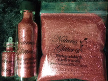 Natures Glitter Pink Fine cosmetic grade Biodegradable Glitter