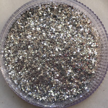 3 Silvers- Find, Medium and Chunky BioGlitters mixed together