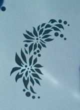 Quick Ez Poinsettia Stencil