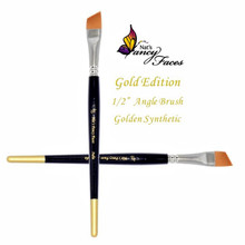 "Nat's Gold Edition 1/2"" Angle Brush"