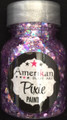 """Purple Rain"" Pixie Paint is a blend of different sizes of Lavender, Amethyst, Silver Stars, and holographic glitters."
