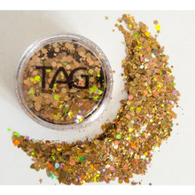 TAG Dark Gold Chunky Glitter Mix 10g