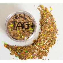 TAG Dark Gold Chunky Glitter Mix 10g