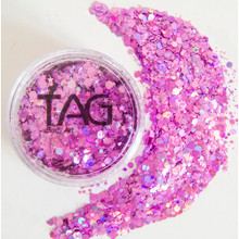 TAG Pink Chunky Glitter Mix 10g