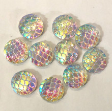 Rainbow/White Scale 12mm