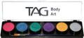 TAG Pearl 6 x 10g Pearl Rose, Pearl Blue, Pearl Green, Pearl Purple, Pearl Gold & Pearl Silver