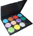 TAG Professional Pearl Palette with insert and your choice of 12 x 32g Pearl paints. These paints are beautiful to work with- gorgeous rich colours, fabulous for fine lines and covering large areas without cracking or crusting.