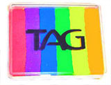 TAG Neon/UV Rainbow- applies easily with a Wicked Sponge for fast and stunning results.