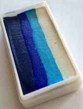 1 Stroke Cool Blues- custom made by Always Wicked Art