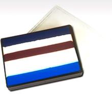 Paradise Prisma Patriot blender cake 50g  PATRIOT - Lagoon Blue, Light Blue, White, Red, White & Dark Blue
