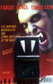 Vampire Fangs- a Special Effect dental appliance. Includes Impression putty for a custom fit every time. Contains 1 pair in a coffin case. Intended for use by responsible adults.