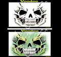 Airbrush Template Voodoo by Donna Nowak