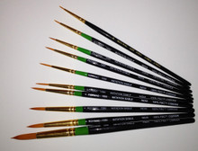 Roymac Round Brushes #000 to #10