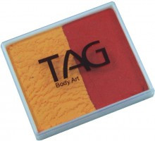 TAG Regular Golden Orange & Red together in a handy container