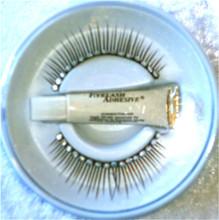 Crystal Diamonte Eyelashes with adhesive