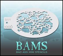 BAM Dragon Skin stencil