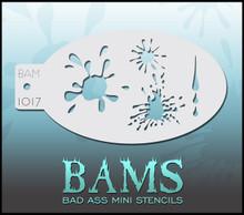 BAM Blood Splatter stencil