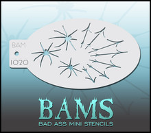 BAM Spider stencil