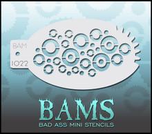 BAM Gears stencil