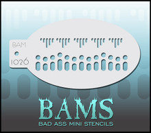 BAM Lace Edge stencil