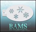 BAM Snowflake stencil