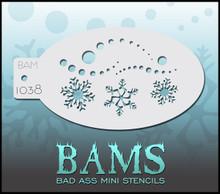 BAM Snowflake two stencil