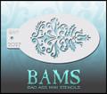BAM mini Stencil  Tulip 2027