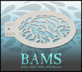 BAM Teardrop Stencil 3013