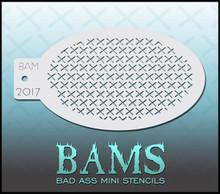 BAM Crosses Stencil 2017