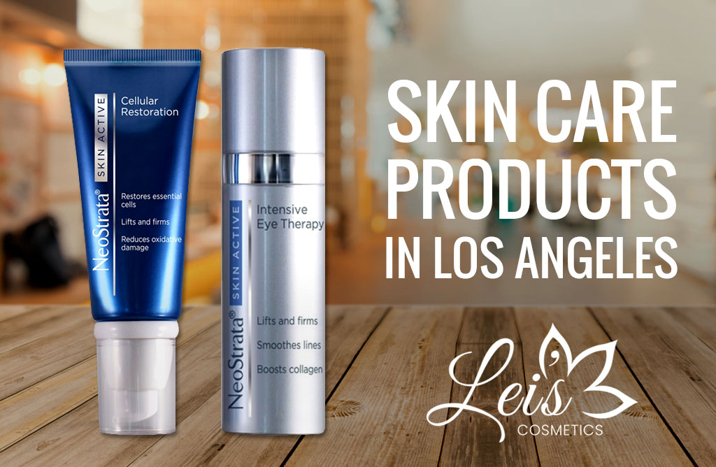 skin care products Los Angeles,
