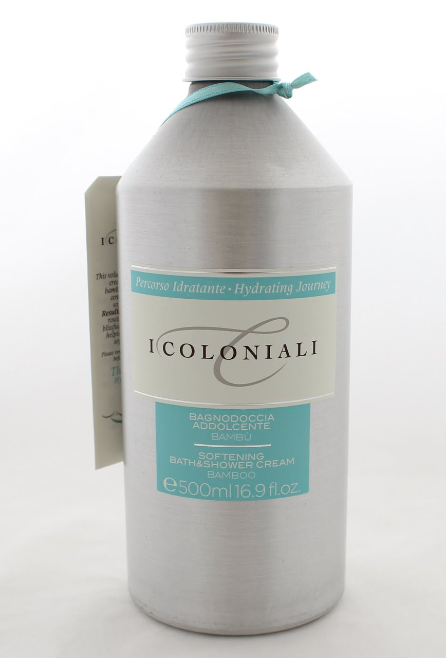 I Coloniali Softening Bath and Shower Cream Bamboo 500ml/16.9oz ...