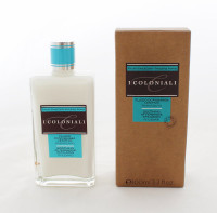 I Coloniali Soothing Aftershave Emulsion 100ml/3.3oz  Alcohol Free, it is a good product for sensitive skin, enrich with Vitamin E and soothing Rhubarb extract.  Instruction: Apply after shaving.  Made in Italy.