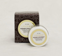 Lalicious Brown Sugar Coconut- Nourishing Lip Butter  Size: 0.2oz  Moisturizes dry lips Conditions and softens lips Gives lips a hint of natural flavor and color  Instruction:  Apply liberally throughout the day as often as desired.  Layer underneath lipstick or gloss for soft and supple lips.