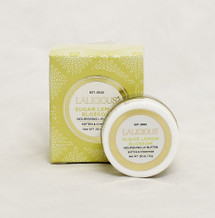 Lalicious Sugar Lemon Blossom- Nourishing Lip Butter  Size: 0.2oz  Moisturizes dry lips Conditions and softens lips Gives lips a hint of natural flavor and color  Instruction:  Apply liberally throughout the day as often as desired.  Layer underneath lipstick or gloss for soft and supple lips.