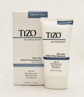 Tizo Age Defying Fusion Ultra Zinc Body & Face Sunscreen SPF 40 NON-TINTED, 3.5 oz.