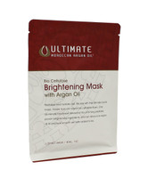 FloClaire Ultimate Moroccan Argan Oil Brightening Mask, Box of 4