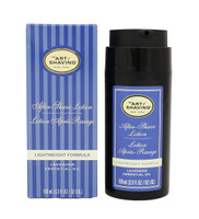 The Art of Shaving After-Shave Lotion Lavender Essential Oil, 3.3 oz.