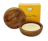 The Art of Shaving Lemon Shaving Soap with Wooden Bowl