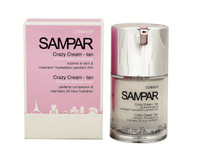 Sampar Crazy Cream-Tan: Tinted UV Defense Cream, 1oz
