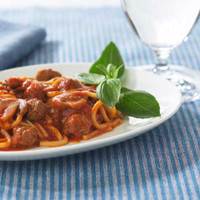 Healthwise Spaghetti and Meatballs