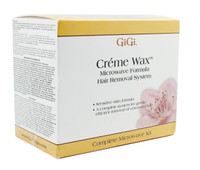 Gigi Creme Wax Microwave Formula Hair Removal System